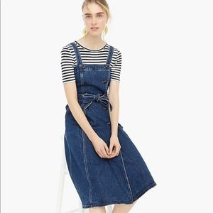 Button Front Denim Trench Dress